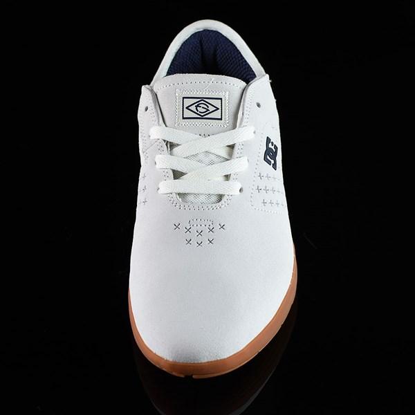 DC Shoes New Jack S Felipe Shoes White, Gum Rotate 6 O'Clock