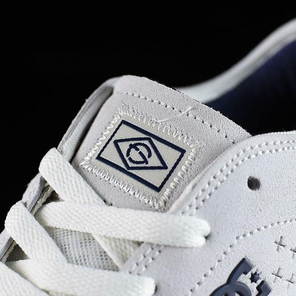 DC Shoes New Jack S Felipe Shoes White, Gum Tongue