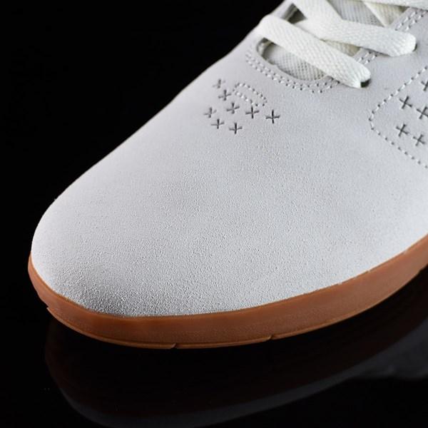DC Shoes New Jack S Felipe Shoes White, Gum Closeup