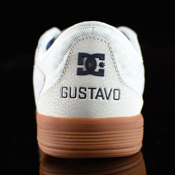 DC Shoes New Jack S Felipe Shoes White, Gum Back