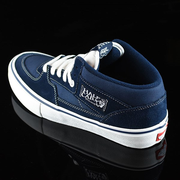 Vans Half Cab Pro Shoes Dress Blues Rotate 7:30