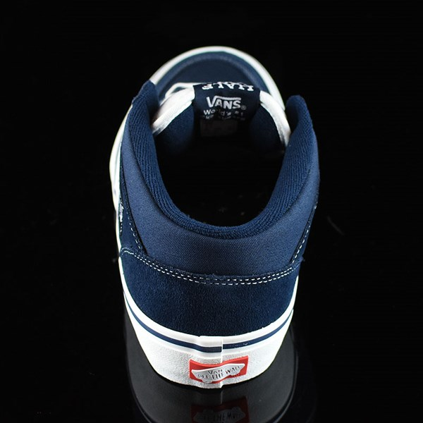 Vans Half Cab Pro Shoes Dress Blues Rotate 12 O'Clock