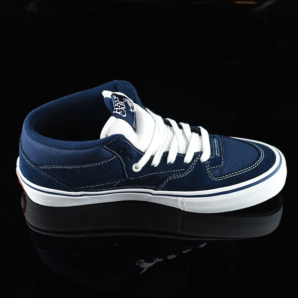 Vans Half Cab Pro Shoes Dress Blues Rotate 3 O'Clock