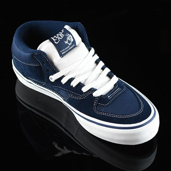Vans Half Cab Pro Shoes Dress Blues Rotate 4:30