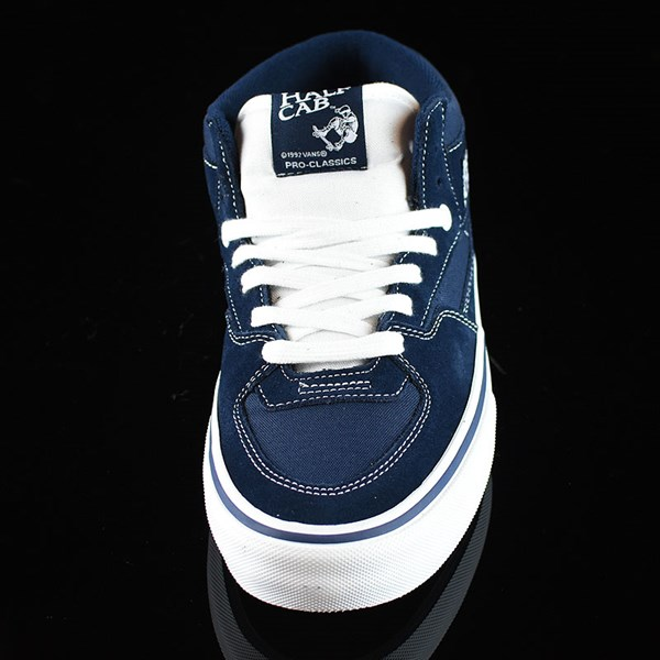 Vans Half Cab Pro Shoes Dress Blues Rotate 6 O'Clock