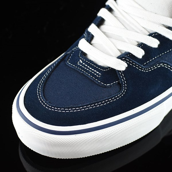 Vans Half Cab Pro Shoes Dress Blues Closeup