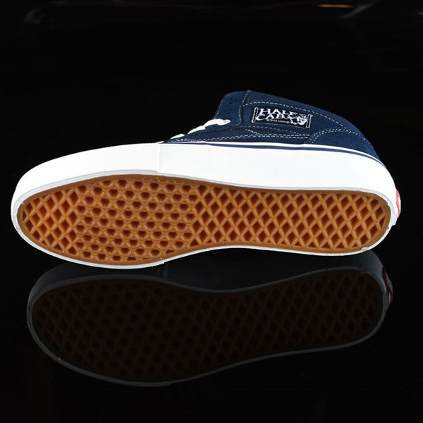 Vans Half Cab Pro Shoes Dress Blues Sole