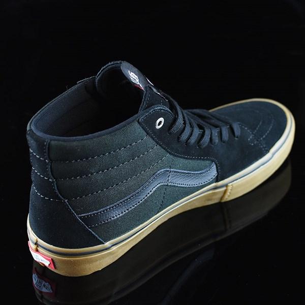 Vans Sk8-Hi Pro Shoes Black, Gum Rotate 1:30