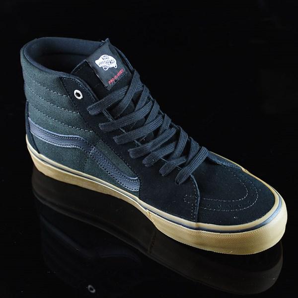 Vans Sk8-Hi Pro Shoes Black, Gum Rotate 4:30