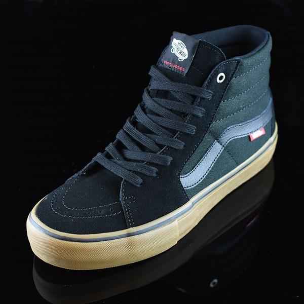 Vans Sk8-Hi Pro Shoes Black, Gum Rotate 7:30