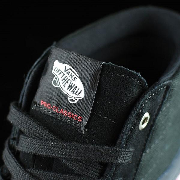 Vans Sk8-Hi Pro Shoes Black, Gum Tongue