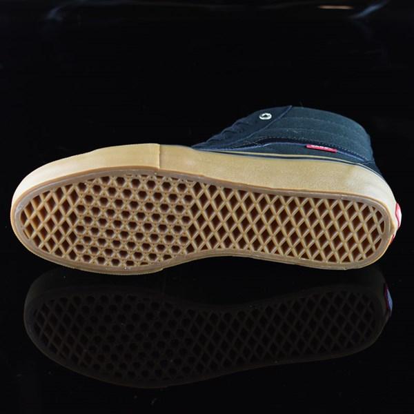 Vans Sk8-Hi Pro Shoes Black, Gum Sole