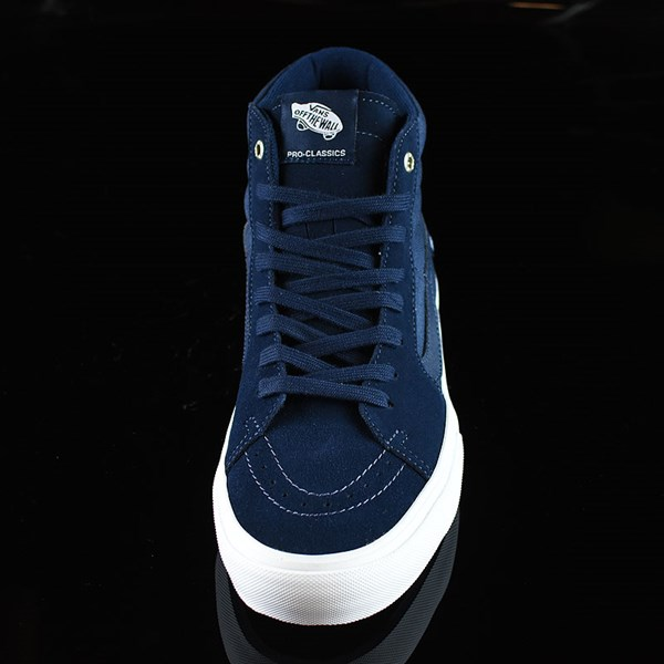 Vans Sk8-Hi Pro Shoes Navy, Navy, White Rotate 6 O'Clock