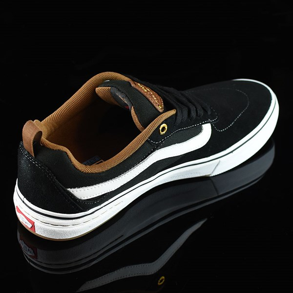 Vans Kyle Walker Pro Shoes Black, White, Gum Rotate 1:30