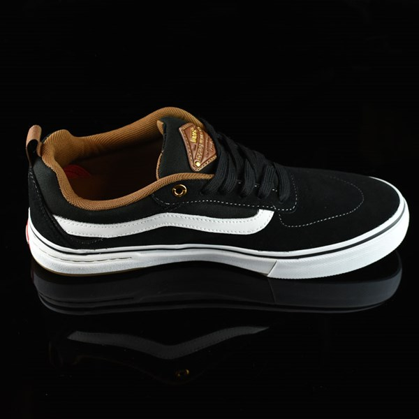 Vans Kyle Walker Pro Shoes Black, White, Gum Rotate 3 O'Clock