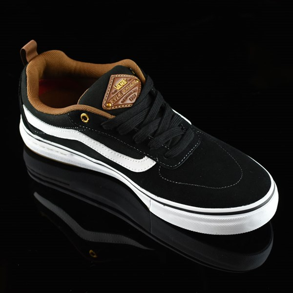 Vans Kyle Walker Pro Shoes Black, White, Gum Rotate 4:30