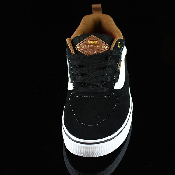 Vans Kyle Walker Pro Shoes Black, White, Gum Rotate 6 O'Clock