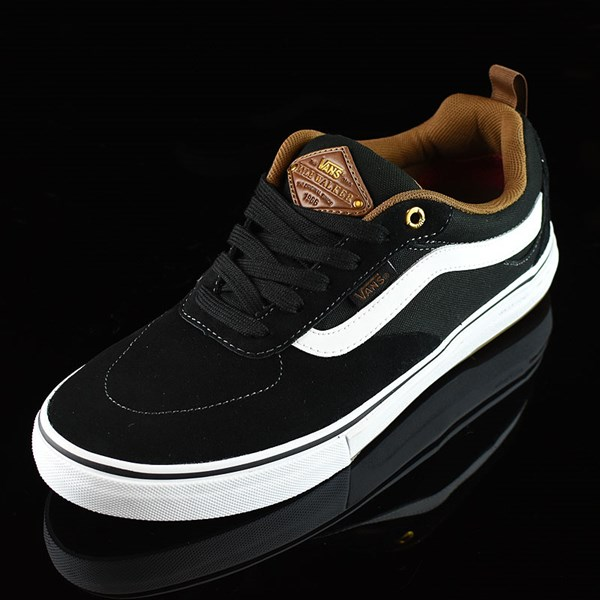 Vans Kyle Walker Pro Shoes Black, White, Gum Rotate 7:30