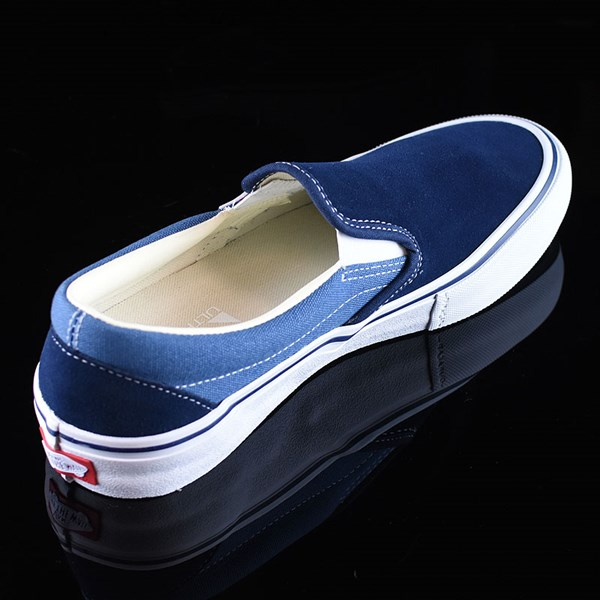 Vans Slip On Pro Shoes Navy Two Tone Rotate 1:30