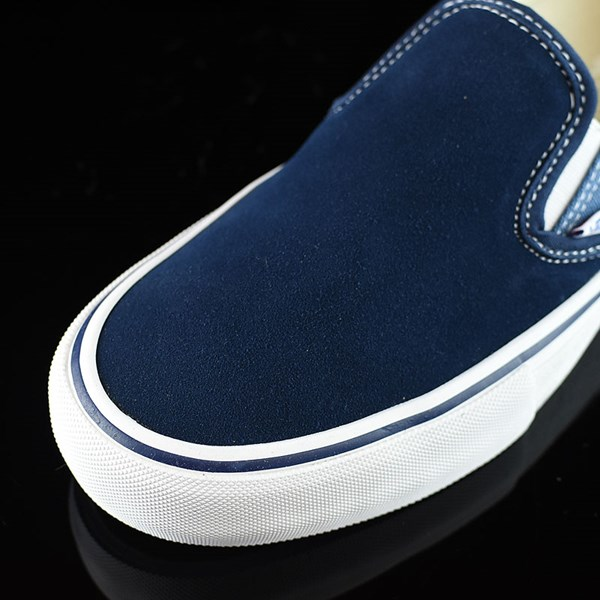 Vans Slip On Pro Shoes Navy Two Tone Closeup