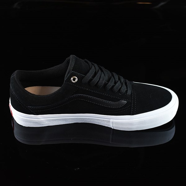 Vans Old Skool Shoes Black, Black, White Rotate 3 O'Clock