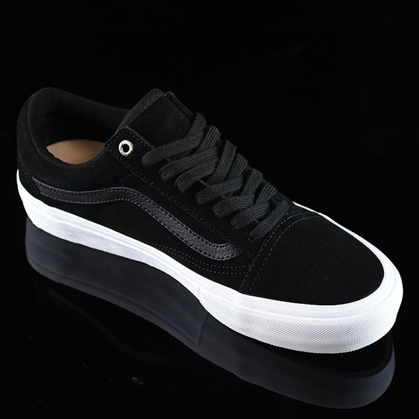 Vans Old Skool Shoes Black, Black, White Rotate 4:30