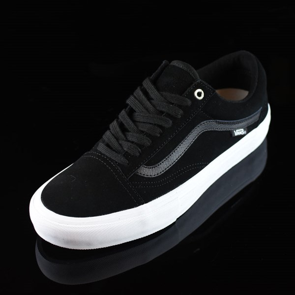 Vans Old Skool Shoes Black, Black, White Rotate 7:30