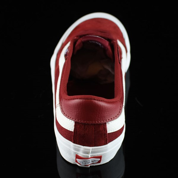 Vans Style 112 Pro Shoes Red Dahlia Rotate 12 O'Clock