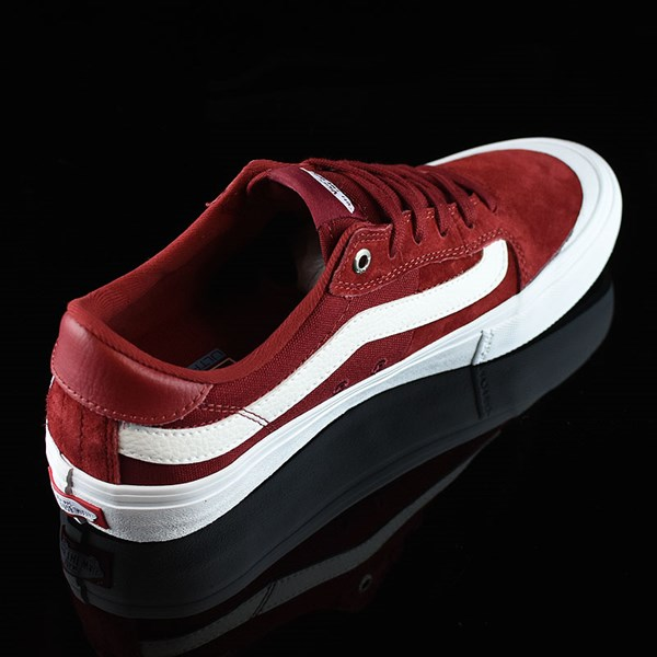 Vans Style 112 Pro Shoes Red Dahlia Rotate 1:30