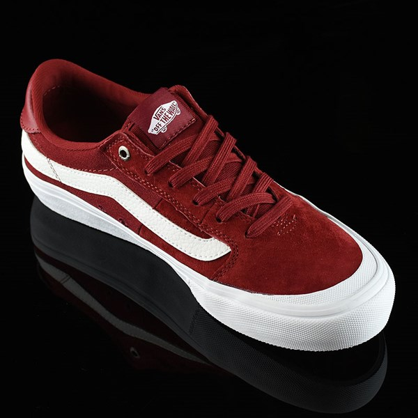 Vans Style 112 Pro Shoes Red Dahlia Rotate 4:30