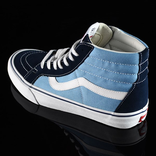 Vans Sk8-Hi Pro Shoes '86 Navy Two Tone Rotate 7:30