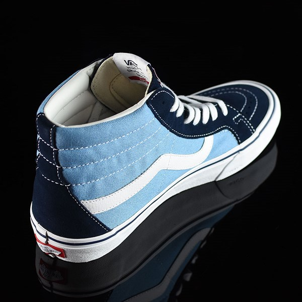 Vans Sk8-Hi Pro Shoes '86 Navy Two Tone Rotate 1:30