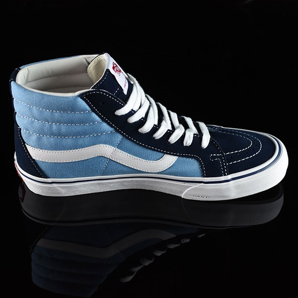 Vans Sk8-Hi Pro Shoes '86 Navy Two Tone Rotate 3 O'Clock