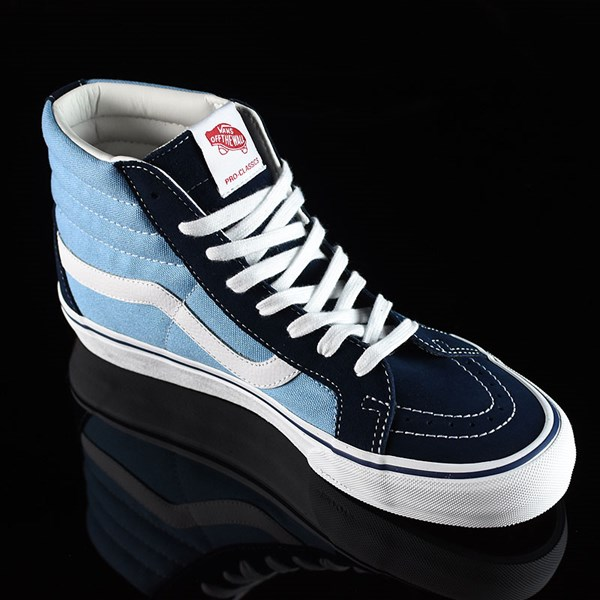 Vans Sk8-Hi Pro Shoes '86 Navy Two Tone Rotate 4:30