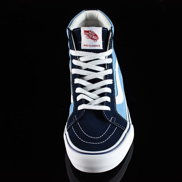 Vans Sk8-Hi Pro Shoes '86 Navy Two Tone Rotate 6 O'Clock