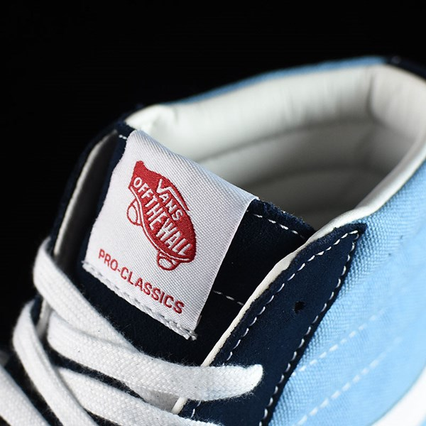 Vans Sk8-Hi Pro Shoes '86 Navy Two Tone Tongue
