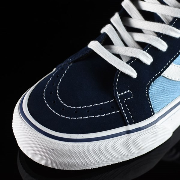 Vans Sk8-Hi Pro Shoes '86 Navy Two Tone Closeup