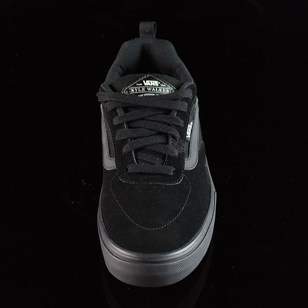 Vans Kyle Walker Pro Shoes Blackout Rotate 6 O'Clock