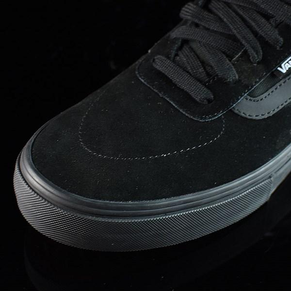 Vans Kyle Walker Pro Shoes Blackout Closeup