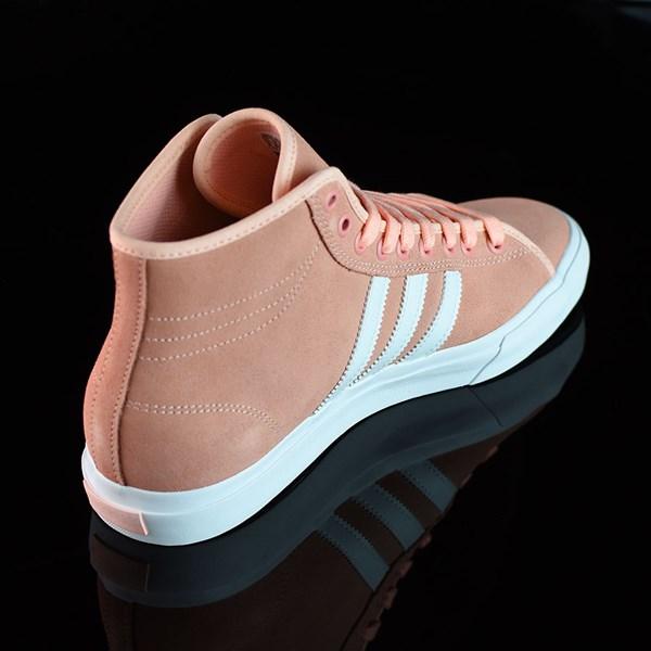 adidas Matchcourt RX Na-Kel Shoes Haze Coral, White, Haze Coral Rotate 1:30