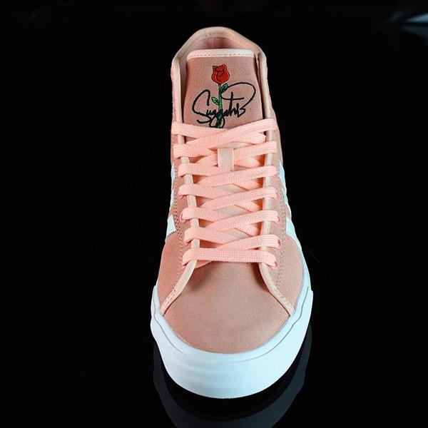 adidas Matchcourt RX Na-Kel Shoes Haze Coral, White, Haze Coral Rotate 6 O'Clock