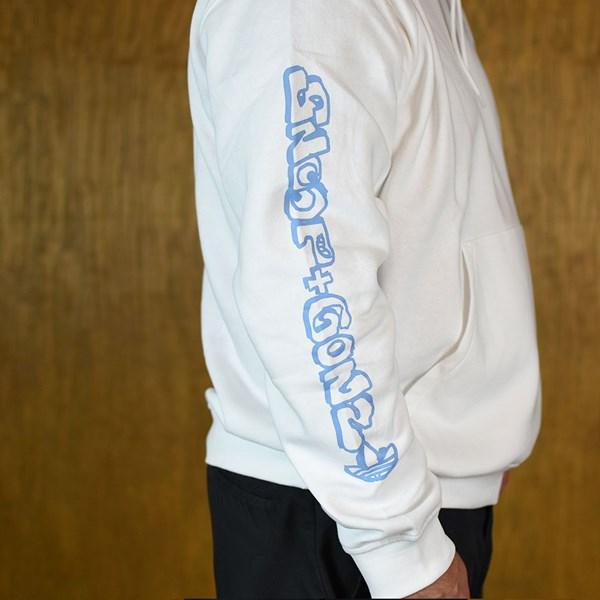 adidas Snoop X Gonz Hooded Sweatshirt White Side