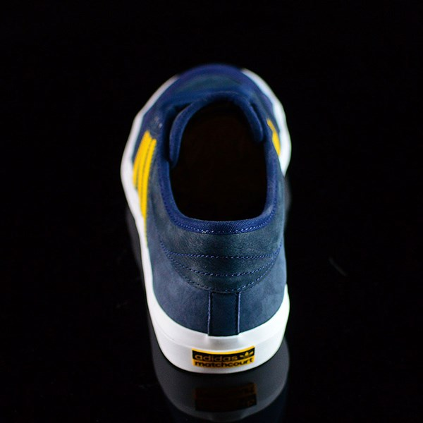 adidas adidas X Hardies Matchcourt Shoes Navy, Yellow, White Rotate 12 O'Clock