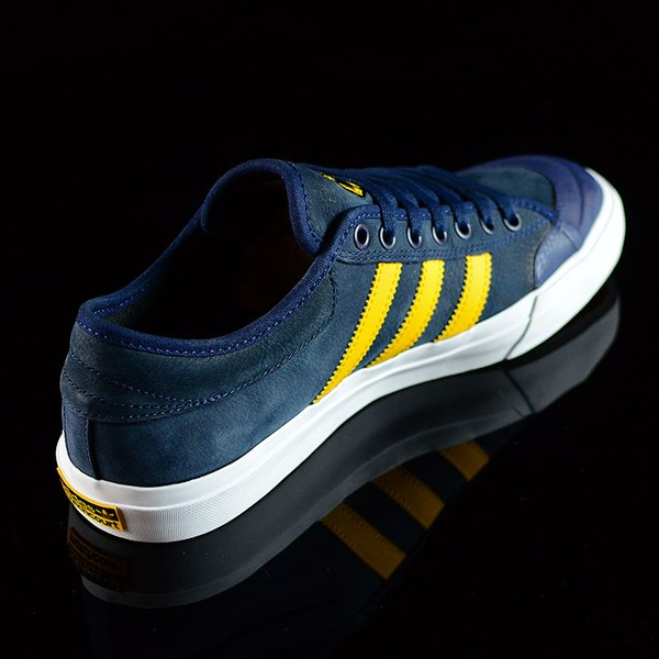 adidas adidas X Hardies Matchcourt Shoes Navy, Yellow, White Rotate 1:30