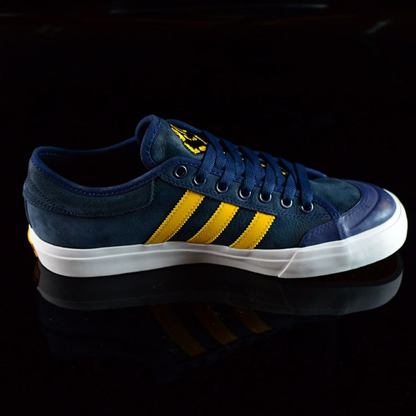 adidas adidas X Hardies Matchcourt Shoes Navy, Yellow, White Rotate 3 O'Clock