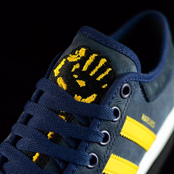 adidas adidas X Hardies Matchcourt Shoes Navy, Yellow, White Tongue