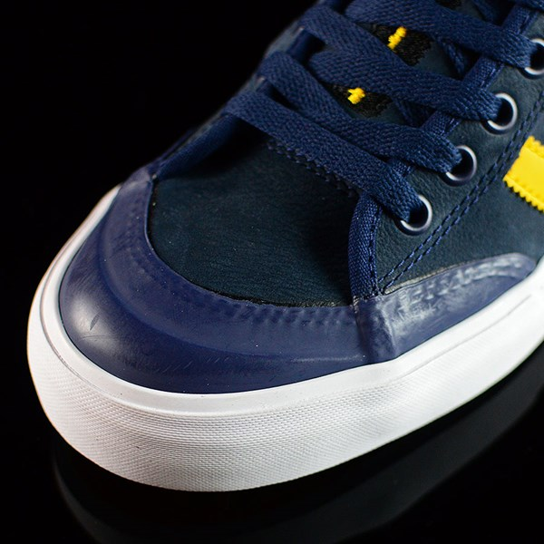 adidas adidas X Hardies Matchcourt Shoes Navy, Yellow, White Closeup