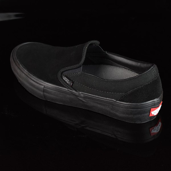 Vans Slip On Pro Shoes Blackout Rotate 7:30