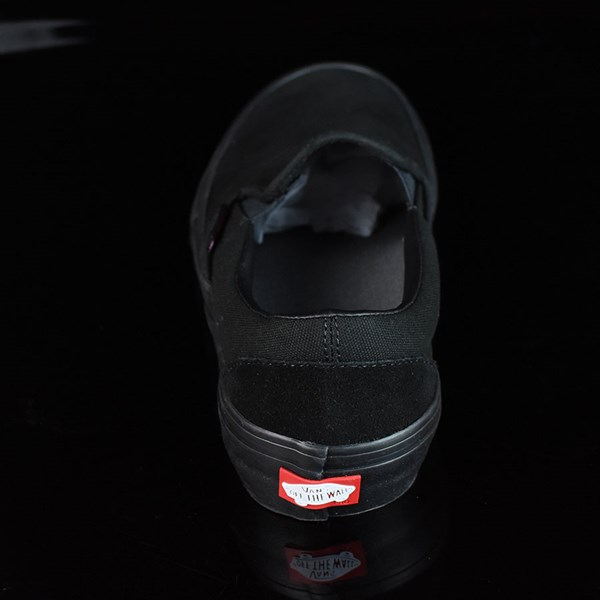 Vans Slip On Pro Shoes Blackout Rotate 12 O'Clock