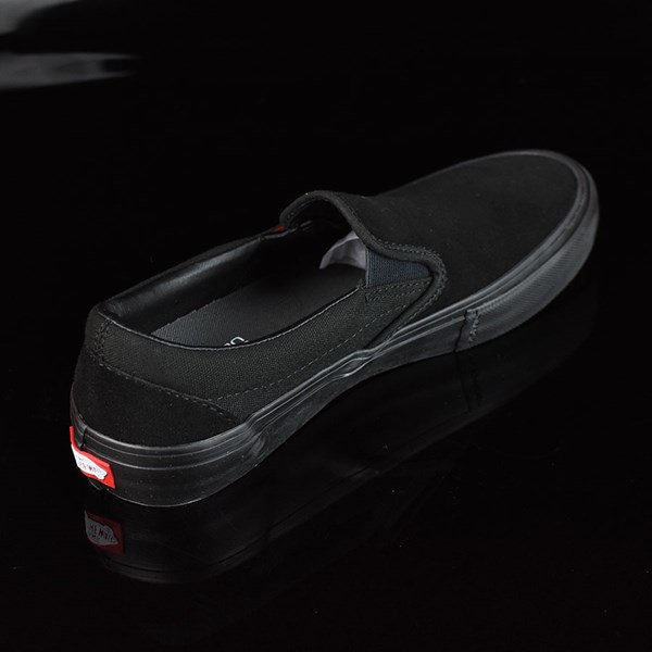 Vans Slip On Pro Shoes Blackout Rotate 1:30
